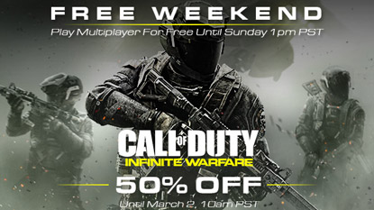 Play CoD: Infinite Warfare's multiplayer for free this weekend