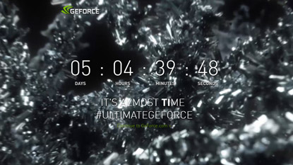 Nvidia starts countdown, for most likely GTX 1080 Ti cover