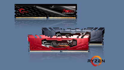 G.Skill unveils Flare X and FORTIS series RAMs, designed for AMD Ryzen cover
