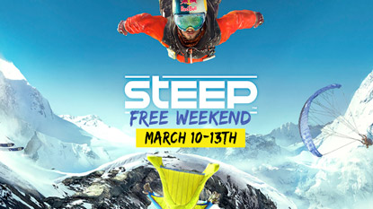 Play Steep for free this weekend cover
