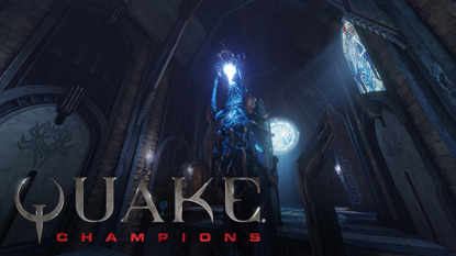 Quake Champions is free-to-play cover