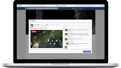 Facebook: mostantól PC-ről is streamelhetünk