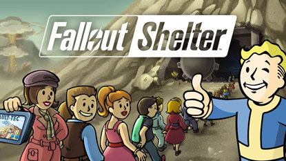 Fallout Shelter released on Steam cover