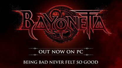 Bayonetta released on PC cover