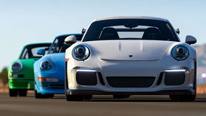 Microsoft partners with Porsche cover