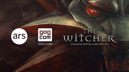 Ars Technica is giving away The Witcher: Enhanced Edition cover