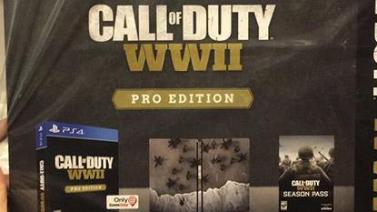 Kiszivárgott a Call of Duty: WWII Special Edition tartalma