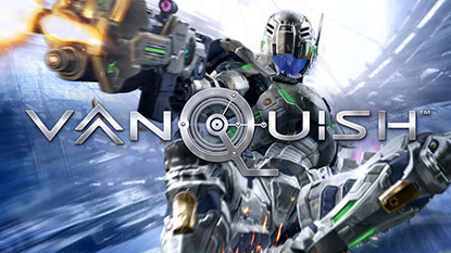 Vanquish coming to PC via Steam cover