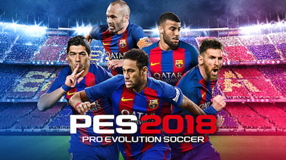 PES 2018 release date revealed cover