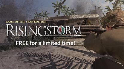 Két napra ingyenessé vált a Rising Storm Game of the Year Edition cover