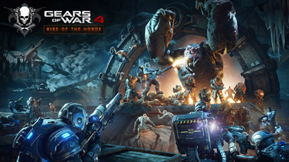 Ingyenes próbalehetőséget hoz a Gears of War 4: Rise of the Horde frissítés