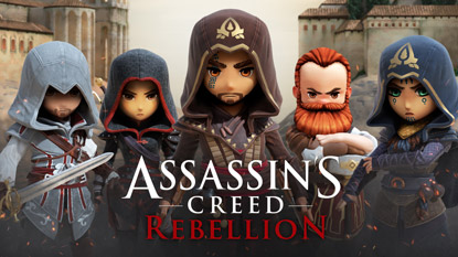 Assassin's Creed Rebellion revealed cover