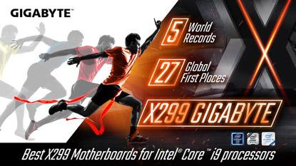 Rekordokat döntenek a Gigabyte X299-es alaplapjai cover