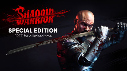 Ingyen beszerezhető a Shadow Warrior: Special Edition cover