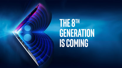 Intel's 8th gen processors officially announced, reveal coming soon cover