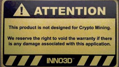 Érvénytelenítik a garanciát a bányászatra használt kártyáknál?