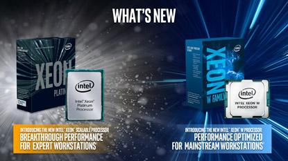 Megjelentek az Intel Xeon W processzorok
