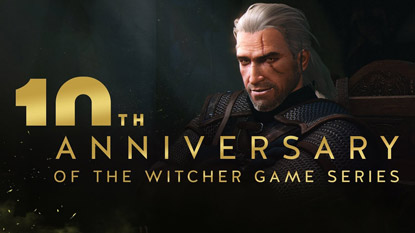 Tíz éves a The Witcher, ünnepel a CD Projekt Red