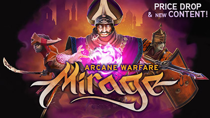 Mirage: Arcane Warfare is free for 24 hours cover