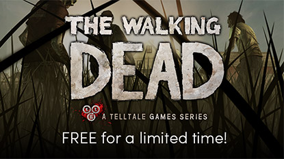 Ingyenesen beszerezhető a The Walking Dead: Season 1 cover