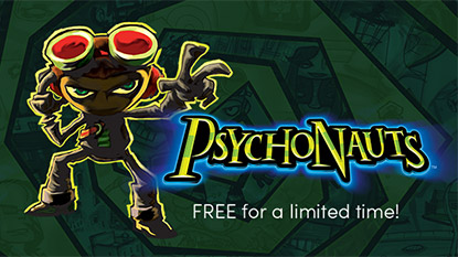 Psychonauts is free for limited time
