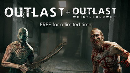 Outlast Deluxe Edition is free for limited time cover
