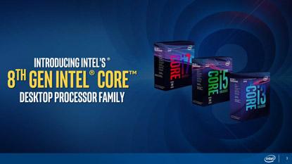 Részletek az Intel 8. generációs processzorairól