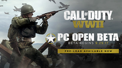 Here's everything about Call of Duty: WWII PC open beta cover