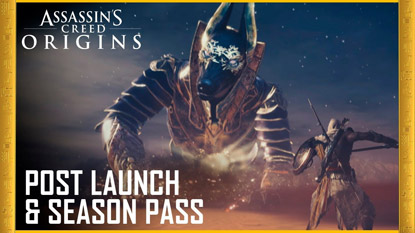 Assassin's Creed​ Origins: ezt tartalmazza a Season Pass