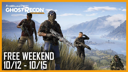 Ghost Recon Wildlands is free to play this weekend cover
