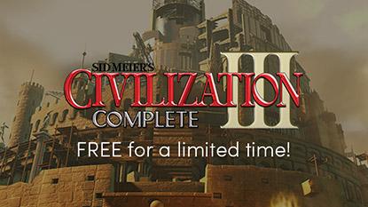Ingyenes a Sid Meier's Civilization III Complete