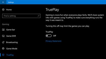 Windows 10: megérkezett a TruePlay