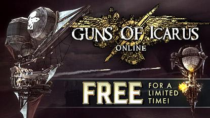 Ingyenesen beszerezhető a Guns of Icarus Online