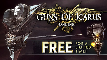 Guns of Icarus Online is free for limited time