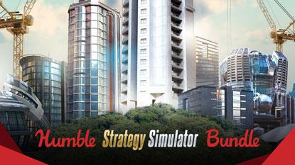 Itt a Humble Strategy Simulator Bundle cover