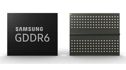 16 Gbps sebességre képes a Samsung GDDR6 memória