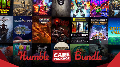 Itt a Humble Care Package Bundle