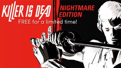 Ingyenesen beszerezhető a Killer is Dead: Nightmare Edition cover