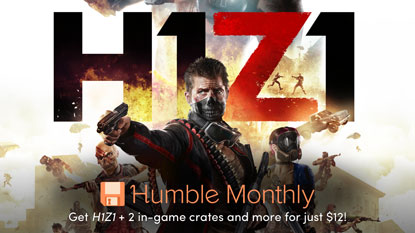 Get H1Z1 for $12 in Humble Monthly December cover