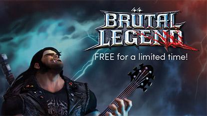Most ingyenesen beszerezheted a Brütal Legend játékot cover