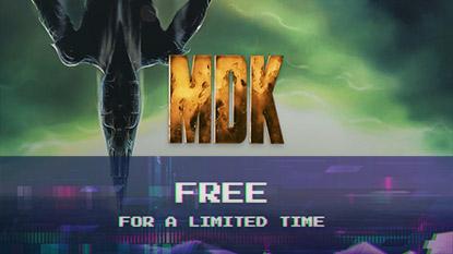 Most ingyen a tiéd lehet az MDK akciójáték cover