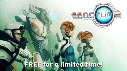 Sanctum 2 is currently free on PC