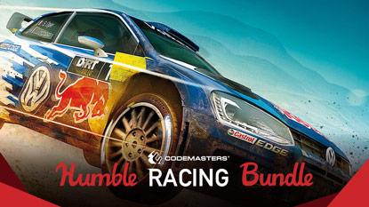 Itt a Humble Codemasters Racing Bundle 2017 cover