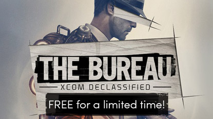The Bureau: XCOM Declassified is free for a limited time cover