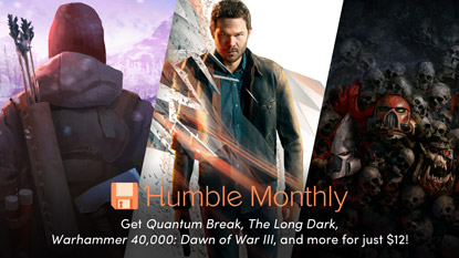Get three hit games in the January Humble Monthly Bundle