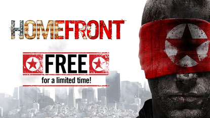Homefront is currently free on PC cover