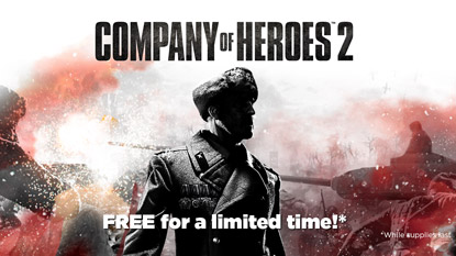 Company of Heroes 2 is currently free on PC cover