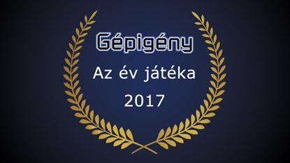 Gépigény.hu: Az év játéka díj 2017 szavazás eredménye