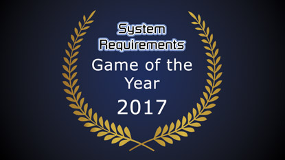 GSR: Game of the Year Award 2017 Results cover