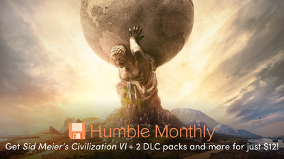 Get Civilization VI in the February Humble Monthly Bundle cover